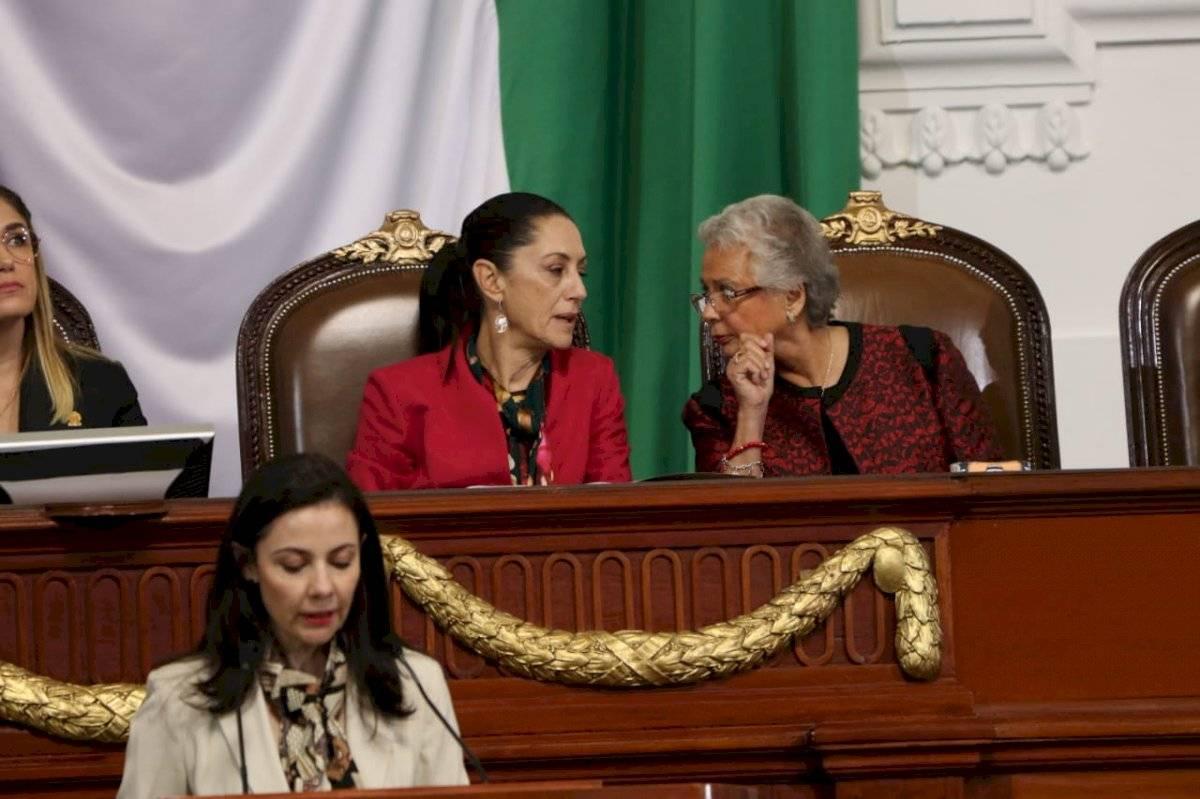 La secretaria de Gobernación, Olga Sánchez Cordero acudió al informe. Foto: Ángel Cruz/Publimetro