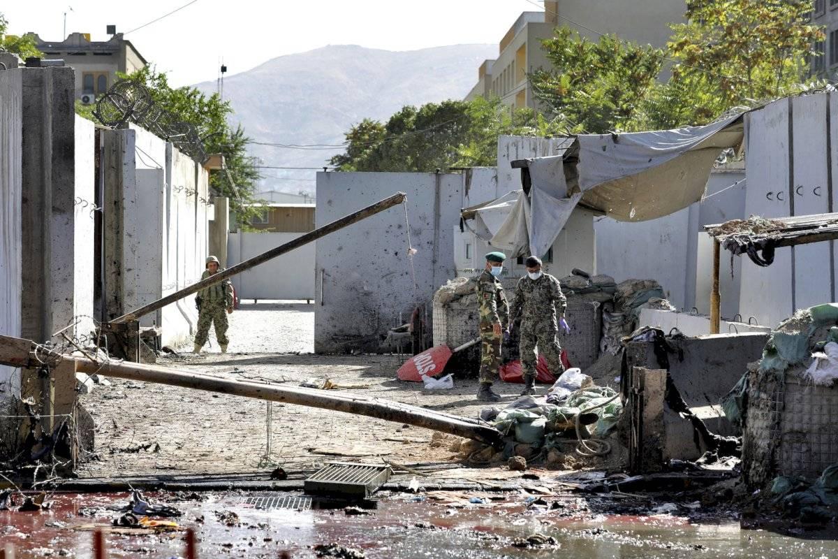 Escenas tras el atentado terrorista en Afganistán