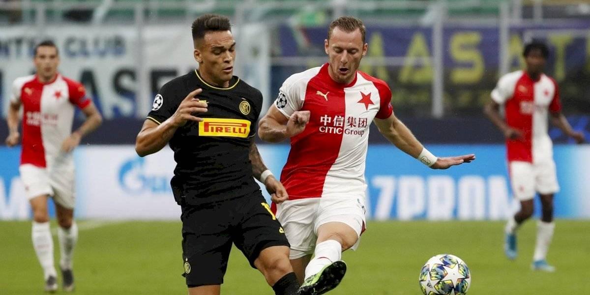 Así vivimos el empate del Inter de Milán sin Alexis ante Slavia Praga en la Champions