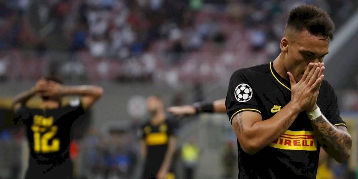 Inter no usó a Alexis y complicó seriamente su futuro en la Champions con empate ante Slavia Praga