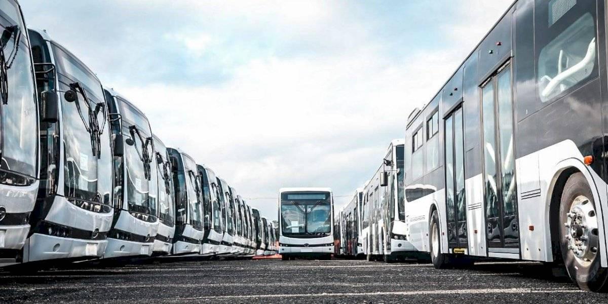 En noviembre entrarán en operación los primeros buses eléctricos de Medellín