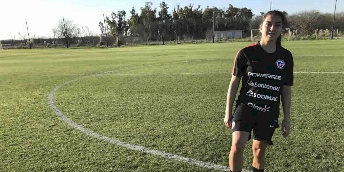 """Camila Pavez, la esperanza de la Roja Femenina sub 20: """"Es súper importante estar en River Plate"""""""