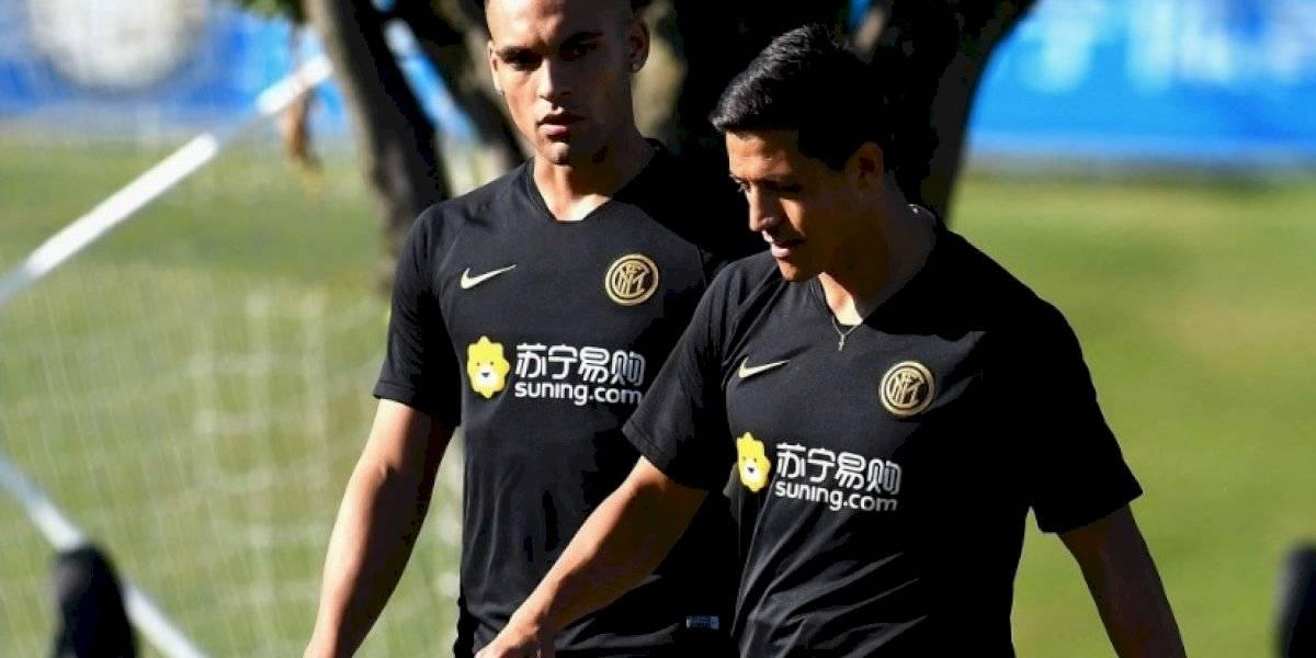 ¿Para qué se lo llevaron? Alexis Sánchez se quedó en la banca en el debut del Inter en la Champions