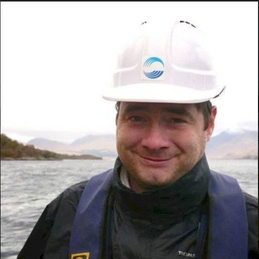 Gareth Law, profesor de radioquímica en la Universidad de Helsinki, Finlandia