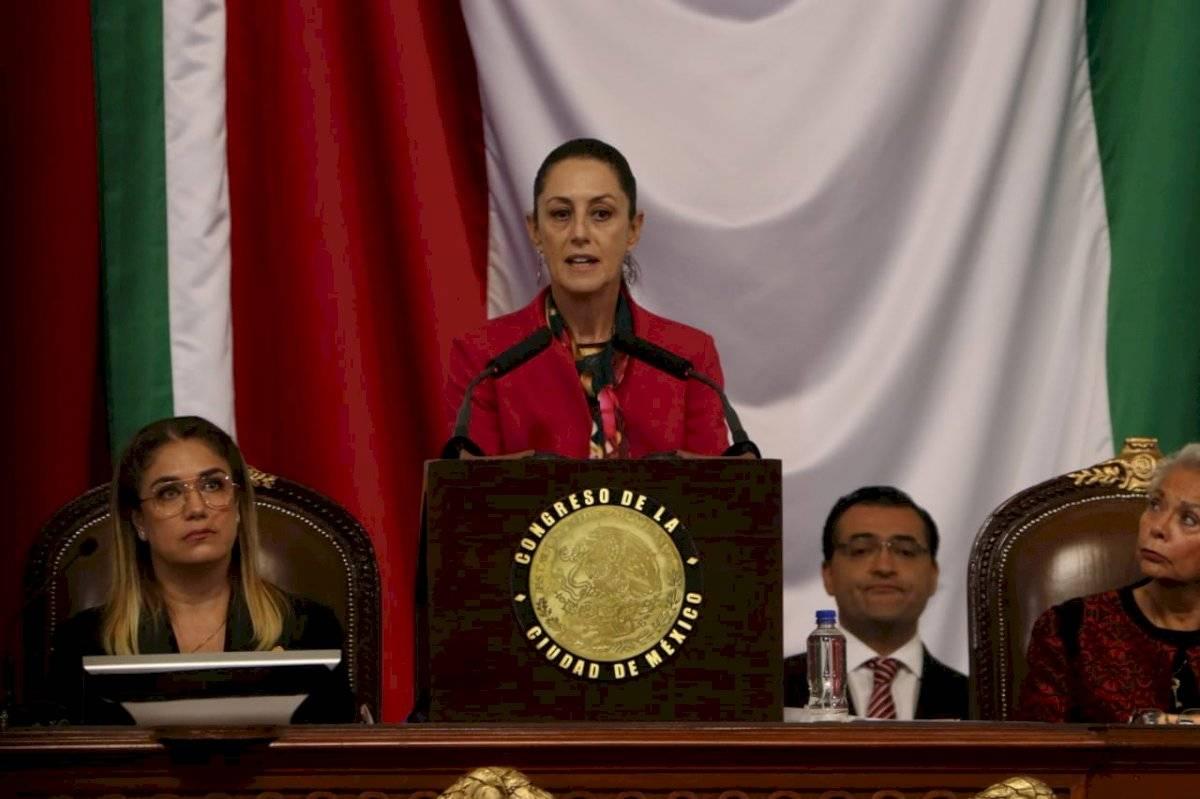 El mensaje de la jefa de gobierno duró 53 minutos. Foto: Ángel Cruz/Publimetro