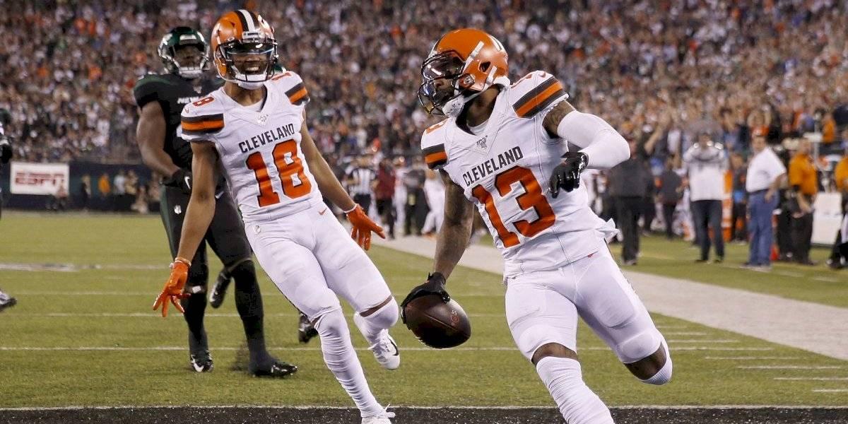 Browns humilla a domicilio a los Jets