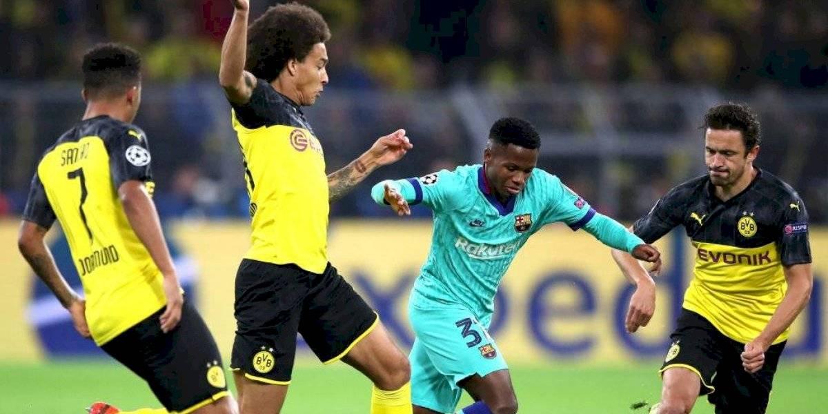 Así vivimos el empate del Barcelona sin Vidal ante Borussia Dortmund en la Champions