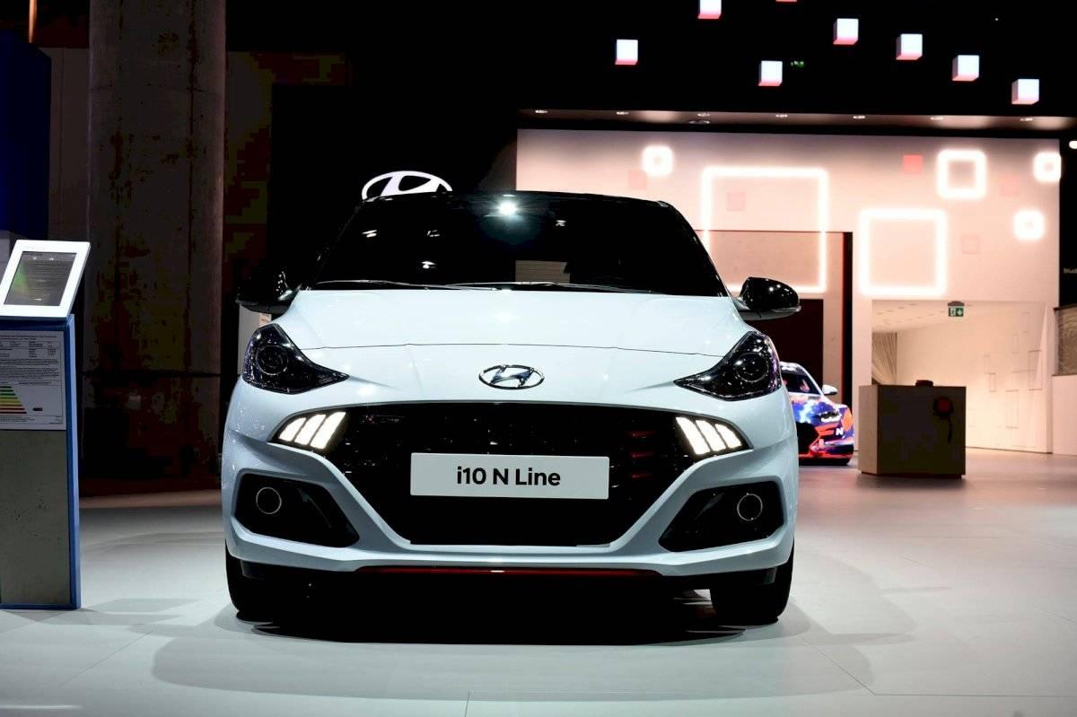 Nuevo Hyundai i10 se presentó en Frankfurt Cortesía