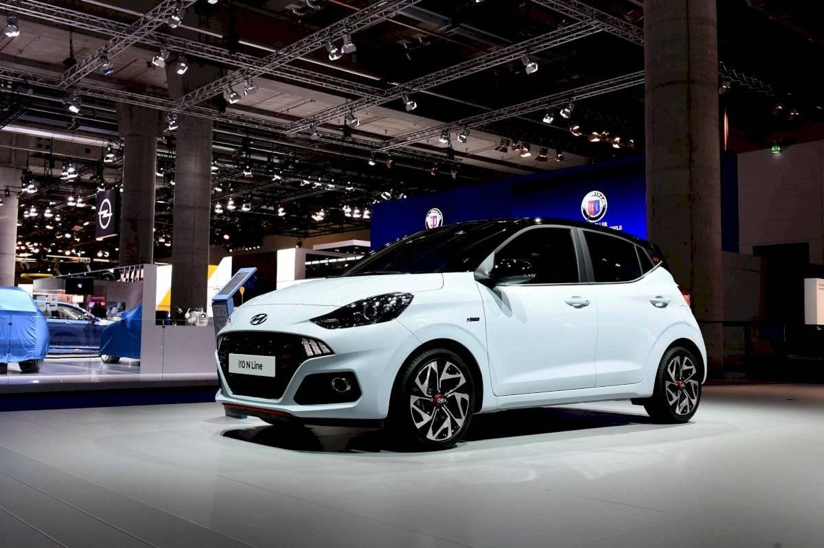 El nuevo Hyundai i10 se presentó en el Auto Show de Frankfurt Cortesía