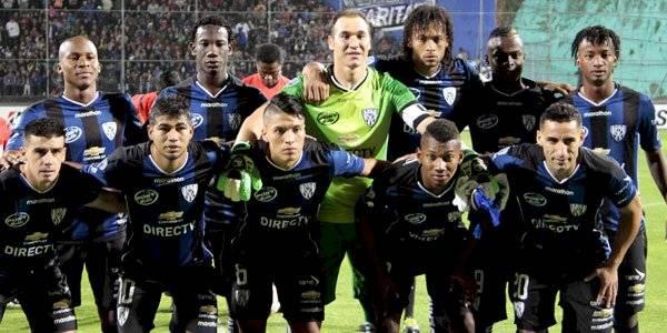 Independiente del Valle en el 2016 cuando quedó en segundo lugar en la Copa Libertadores API