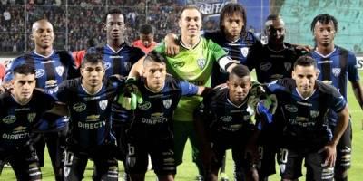 Independiente del Valle en el 2016 cuando quedó en segundo lugar en la Copa Libertadores
