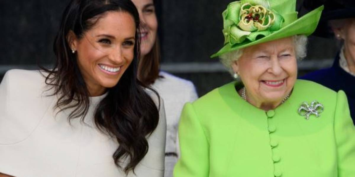La reina Isabel habría prohibido a sus invitados preguntarle sobre Meghan y Harry