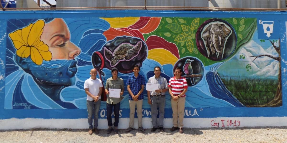Plastigama realizó la primera edición del concurso de murales en Panorama