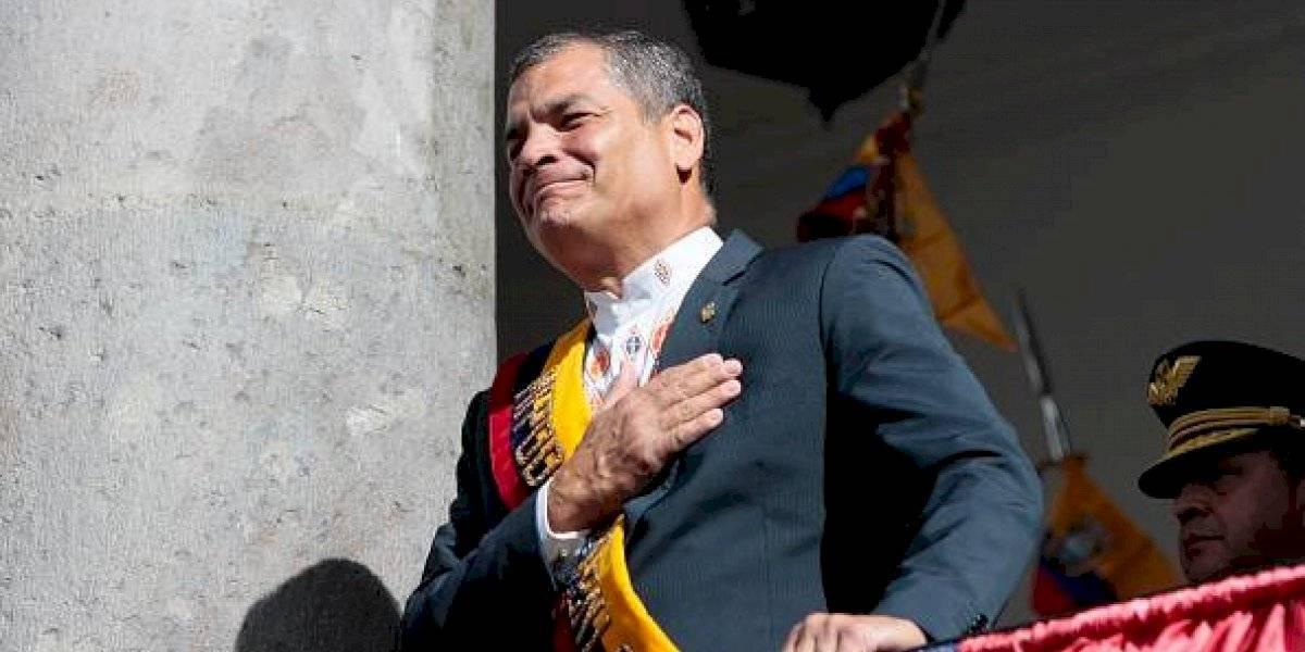"""Rafael Correa """"asume la culpa"""" de lo que está pasando actualmente en el Ecuador"""