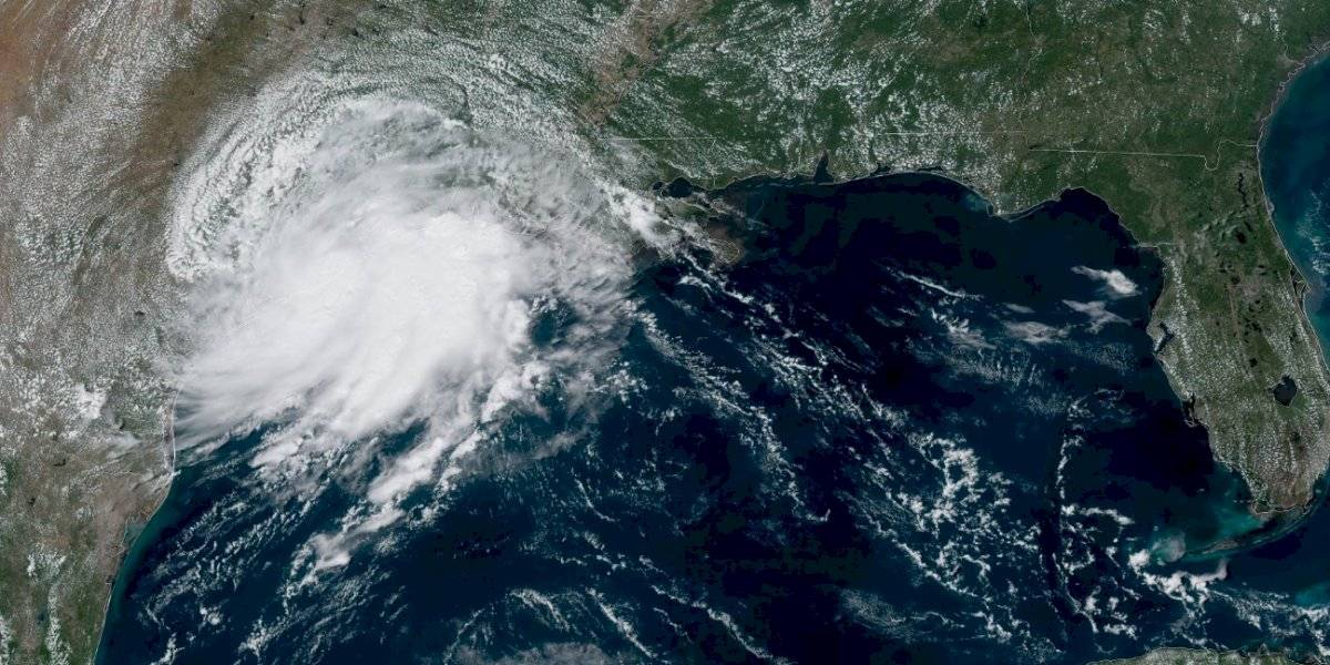 Se forma la tormenta tropical Imelda en el Golfo de México