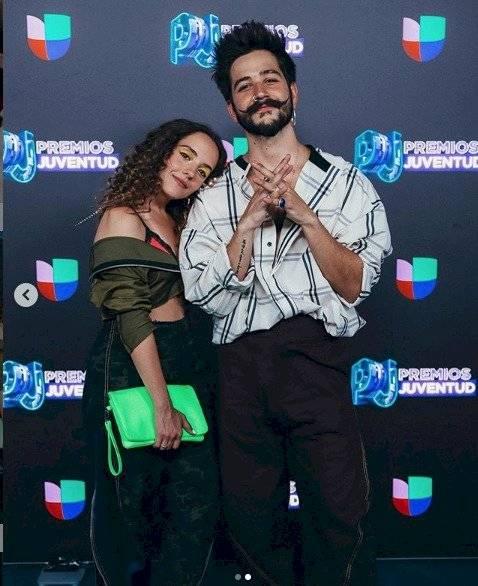 Evaluna Montaner y Camilo Echeverry Instagram