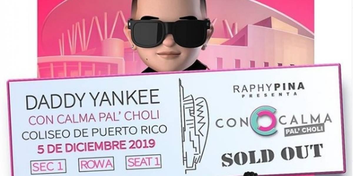 Se abre segunda función del concierto de Daddy Yankee en el Choliseo