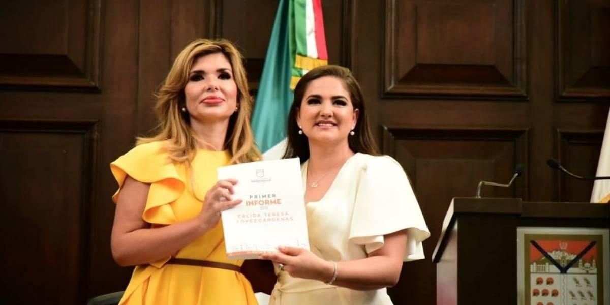 Alcaldesa de Hermosillo llora en su informe por falta de recursos