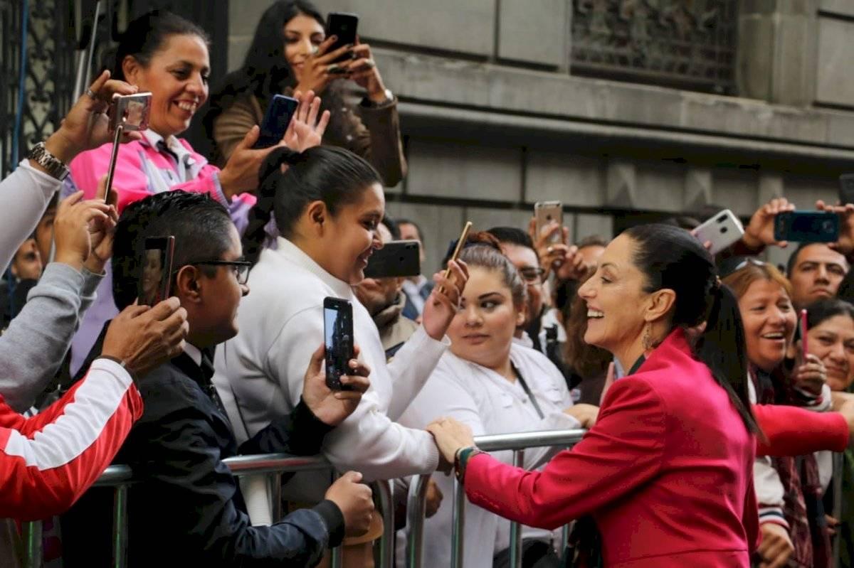 Claudia Sheinbaum llegó a las 9:20 horas al Congreso Foto: Ángel Cruz/Publimetro