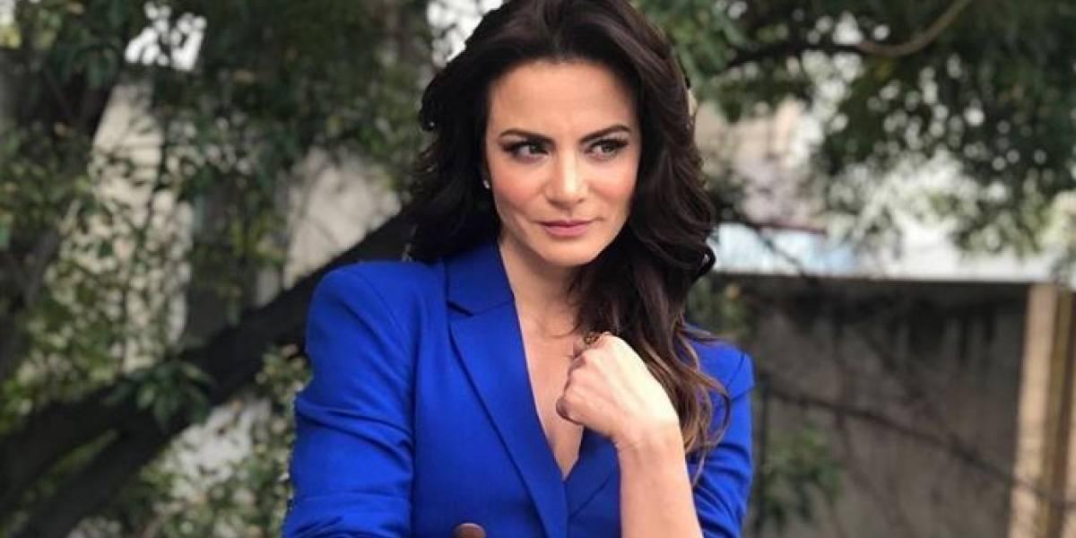 Silvia Navarro descarta relación con una otra mujer