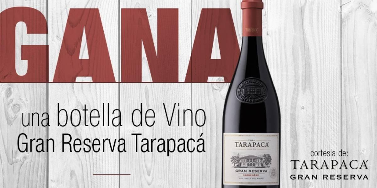 ¡Gana! Una botella de vino Gran Reserva Taracapá