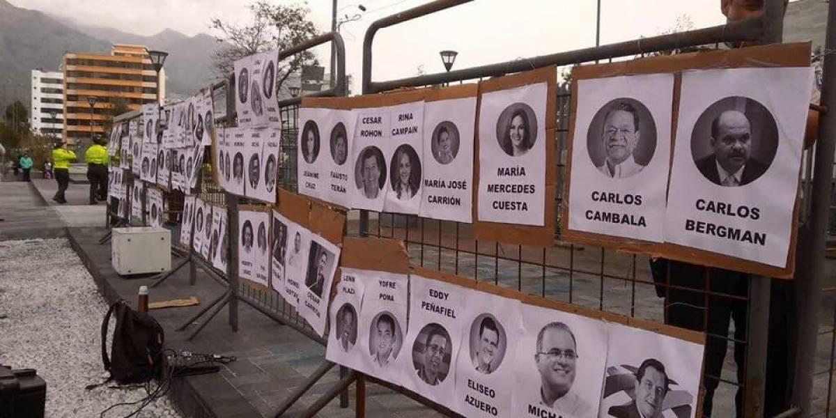 Exponen los rostros de los asambleístas que votaron en contra de la despenalización del aborto