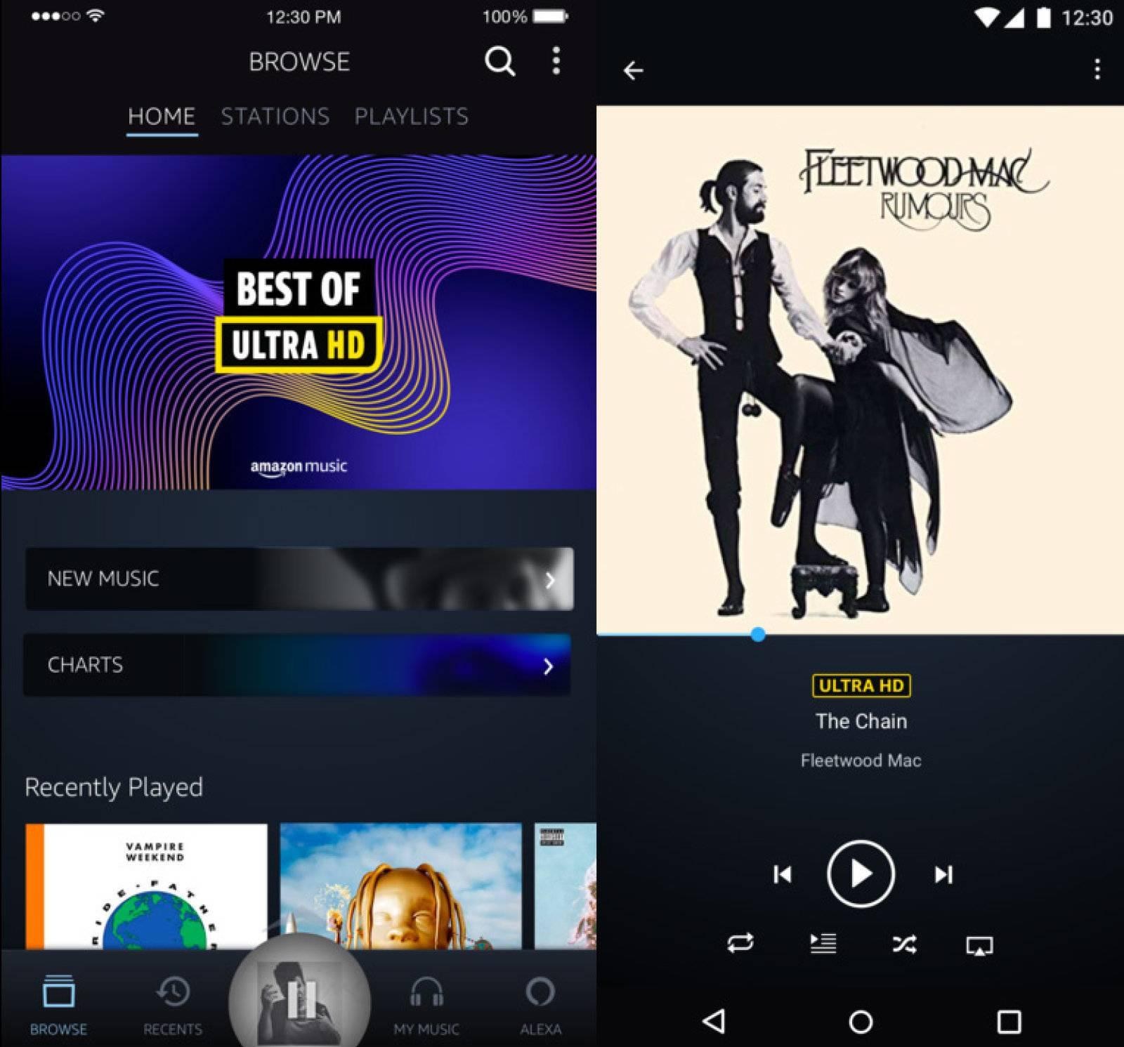 Llega Amazon Music HD para sacar a Tidal del negocio