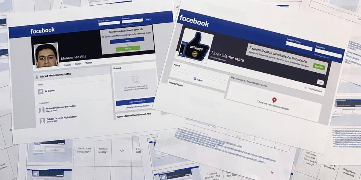 Facebook sigue autogenerando páginas para extremistas