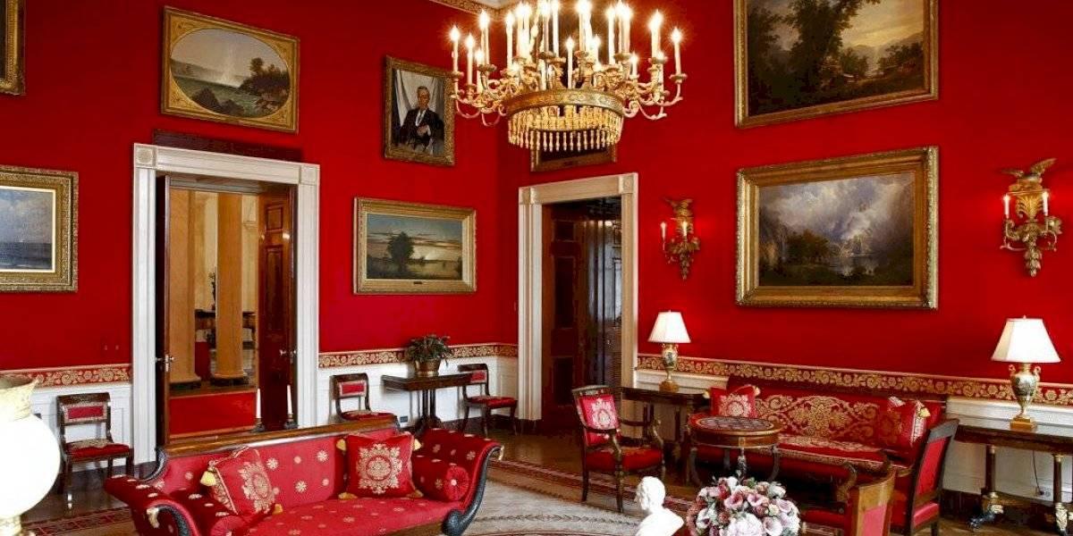 Melania Trump remoza el interior de la Casa Blanca