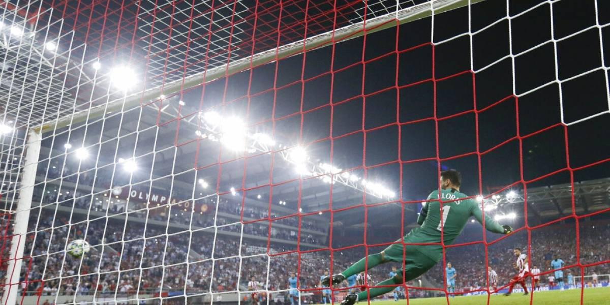 Tottenham se deja empatar 2-2 con Olympiakos en la Champions