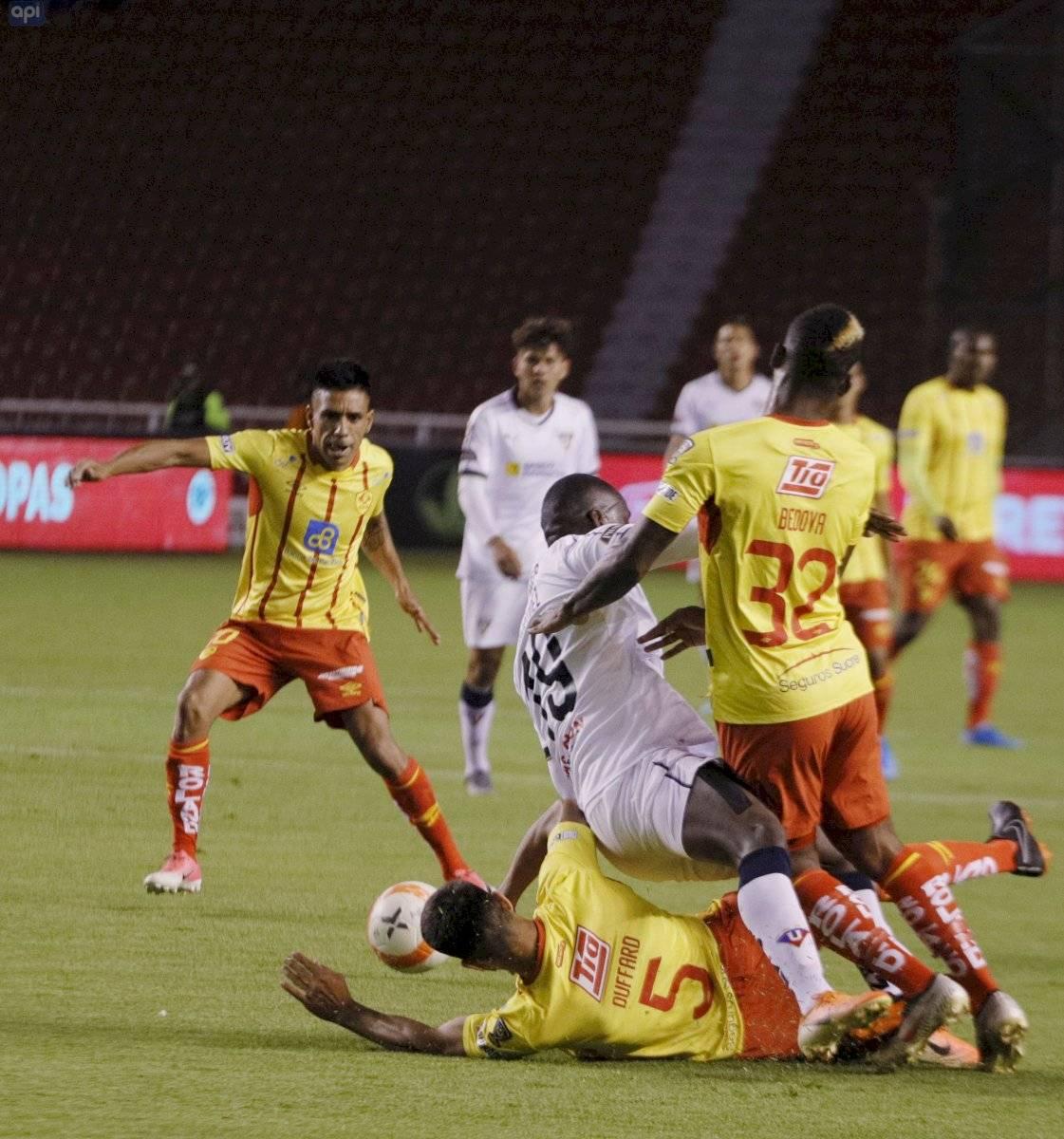 Liga de Quito vs Aucas: Copa Ecuador API