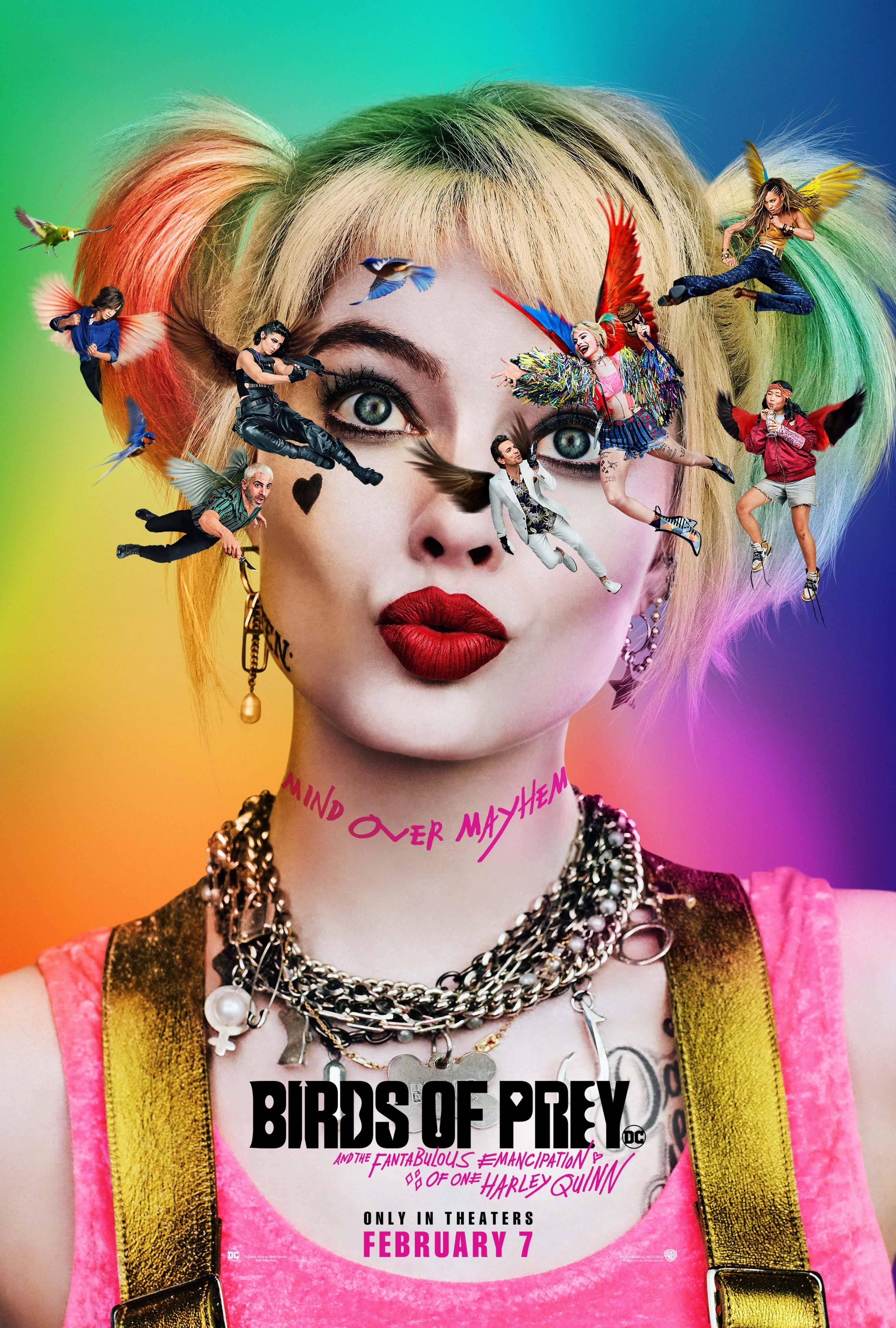 Birds of Prey revela su primer cartel y la guionista revela que todo es obra de Margot Robbie