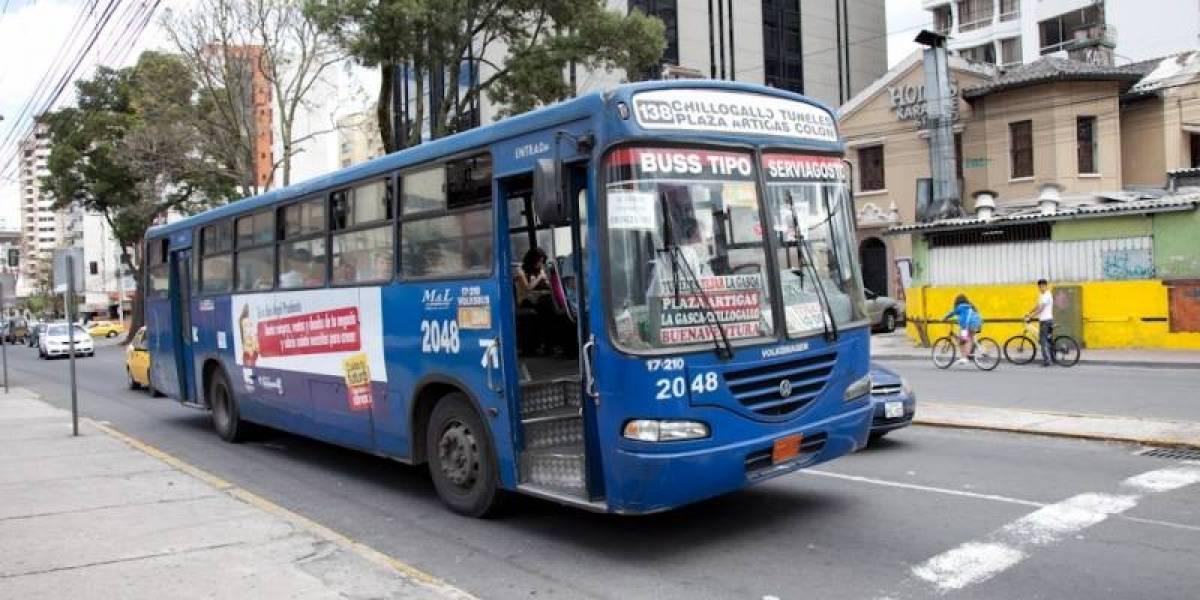 Concejo Metropolitano analizará tarifa de transporte en Quito en 15 días