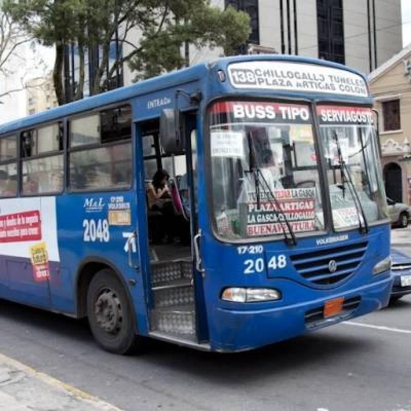 Pasajes de transporte urbano suben $0.10