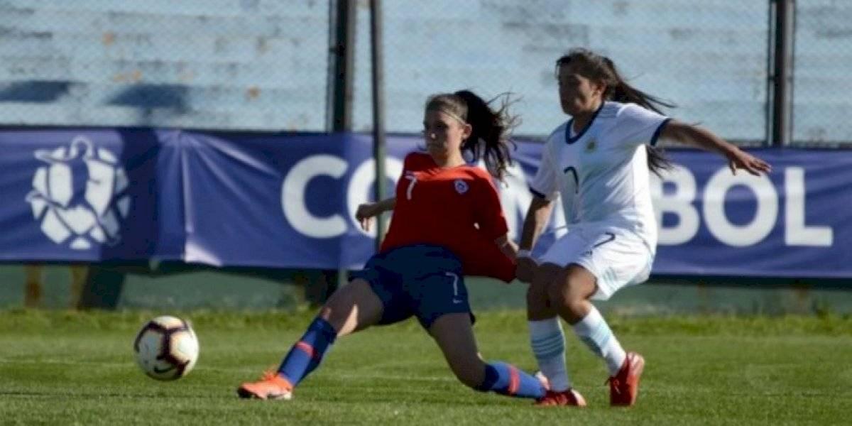 Comenzó con el pie izquierdo: La Roja femenina sub 19 cayó ante Argentina en la Liga Sudamericana
