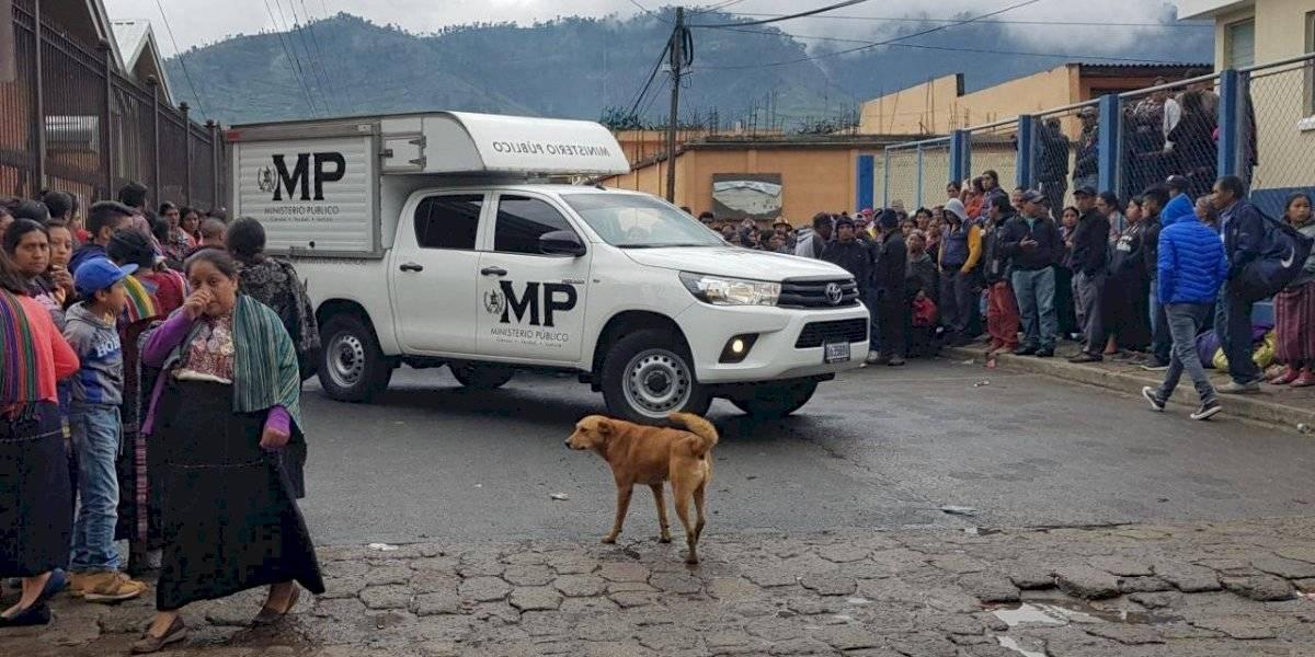 Un centenar de elementos policiales fue destacado a zona de conflictividad en Sololá