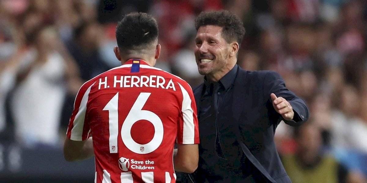 'Simeone fue el que me dijo que fuera a rematar': Héctor Herrera