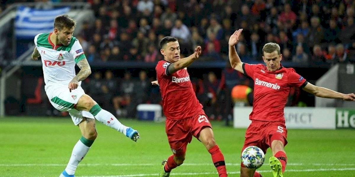 ¿Fue gol de Charles Aránguiz?: El controvertido tanto de Bayer Leverkusen en su debut por la UEFA Champions League