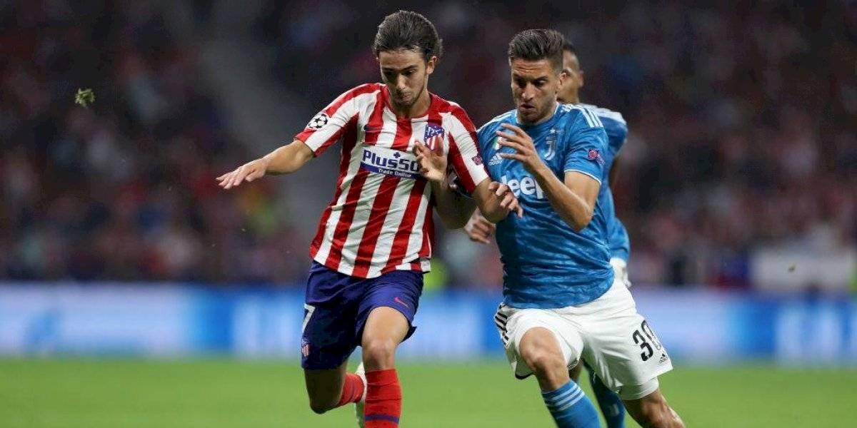 Atlético de Madrid reaccionó en el final y consiguió un valioso empate ante Juventus en la Liga de Campeones