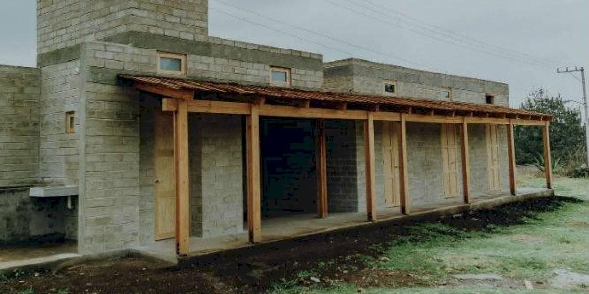 Love Army construye viviendas para damnificados por sismo en Ocuílan