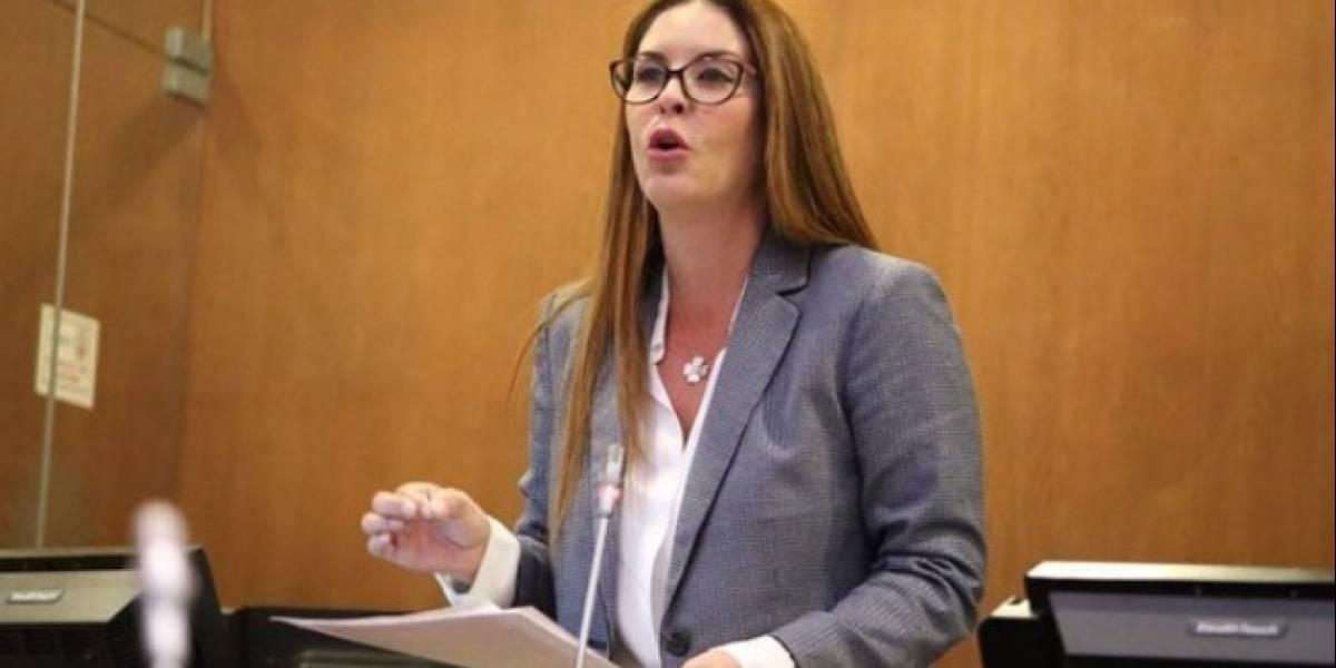María Mercedes Cuesta se pronuncia sobre su ausencia en la votación de las reformas al COIP