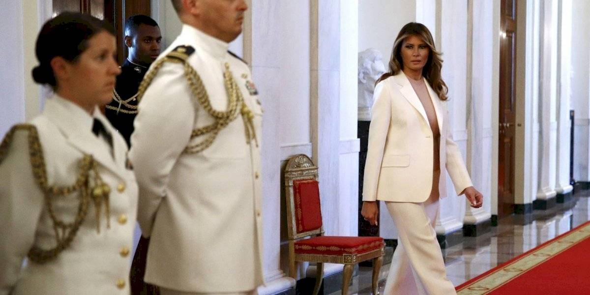 Melania Trump redecora el interior de la Casa Blanca