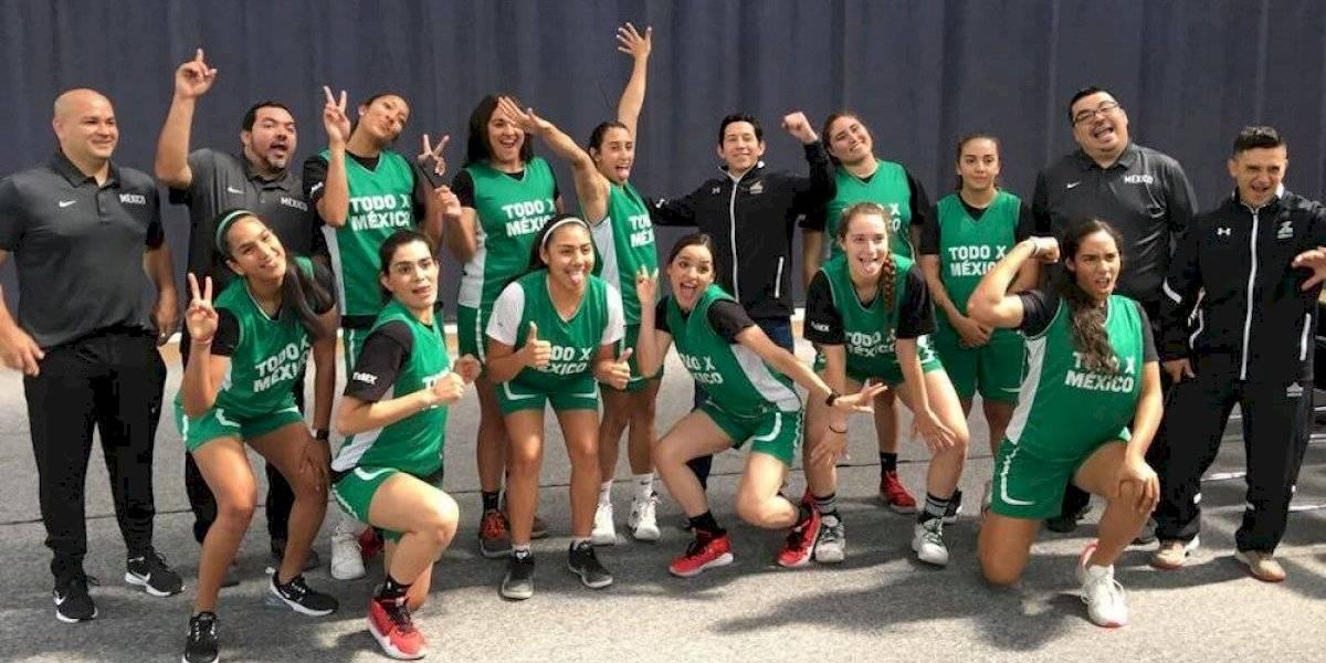 Selección femenil mayor de basquet se reporta lista para la Americup