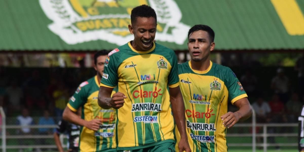 José Corena sigue en racha positiva con Guastatoya