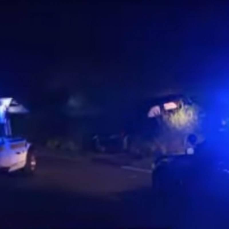 Tempo sufre accidente automovilístico y la DEA se involucra