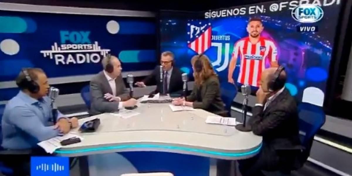 VIDEO: Otro comentarista de Fox Sports pensó en Futbol Picante en pleno programa