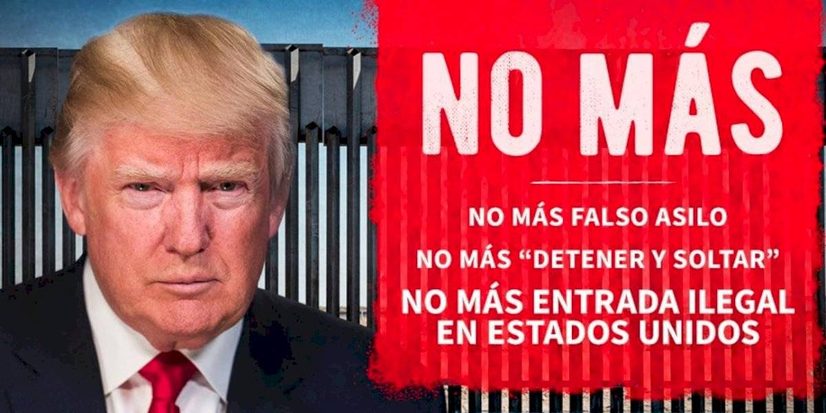 Trump manda mensaje en español a migrantes