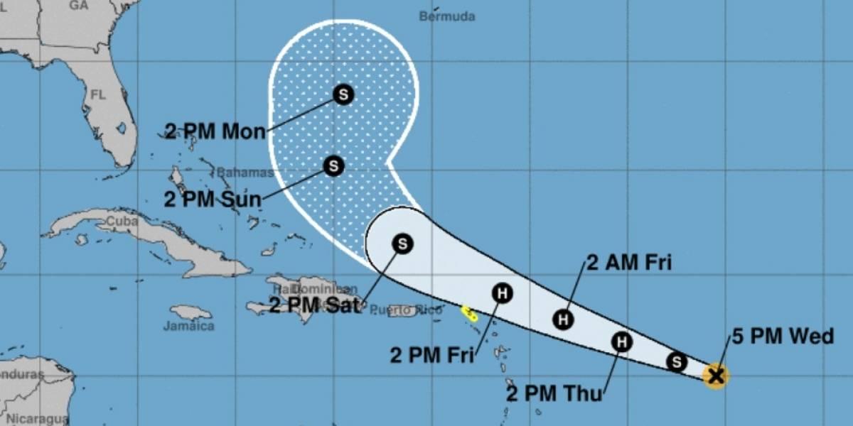 Emiten vigilancia de tormenta tropical para San Martín y San Bartolomé
