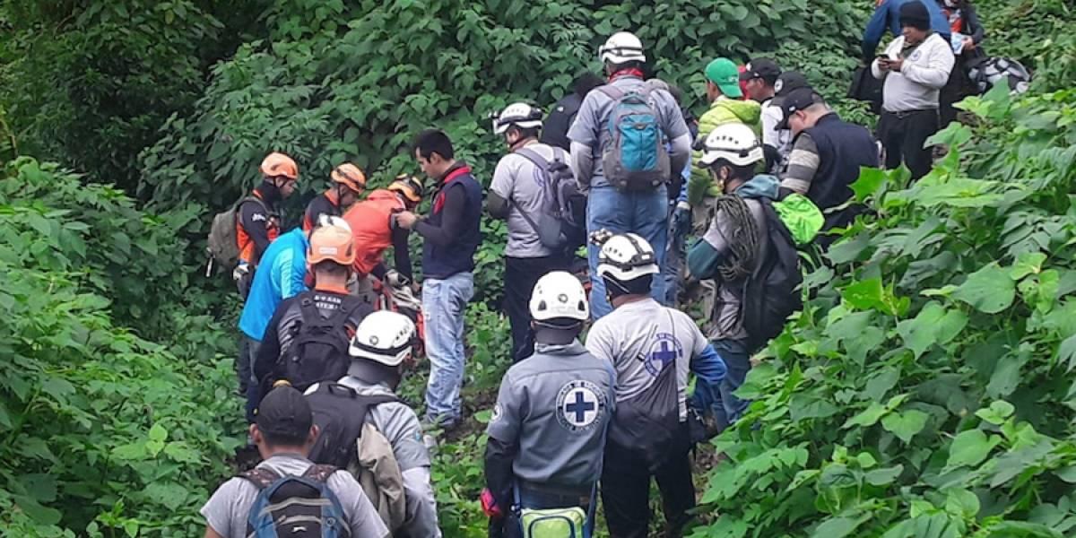 VIDEO. Excursionistas extraviados en volcán Santo Tomás relatan su experiencia