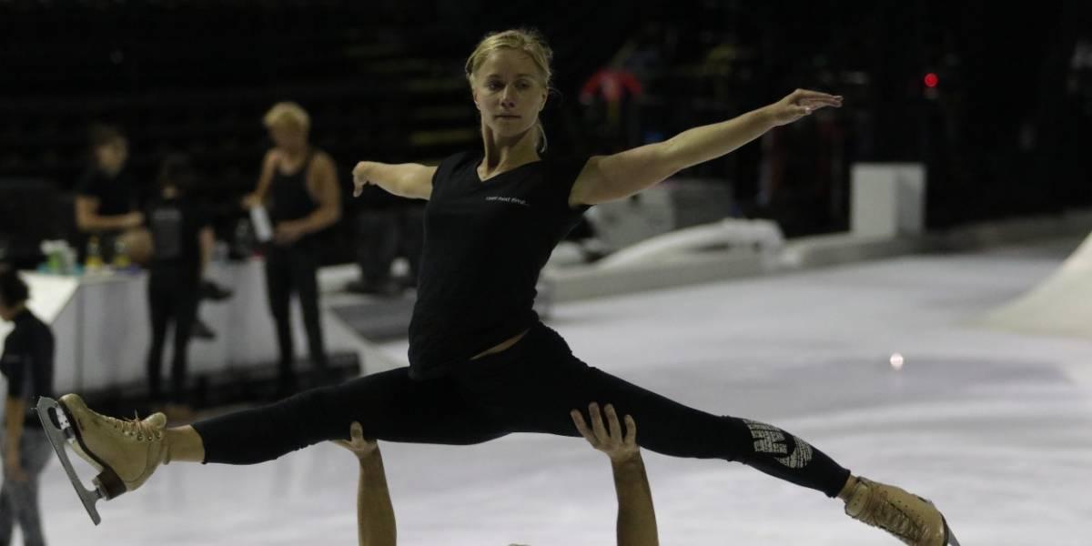 Le apuesta Cirque du soleil a espectáculo sobre hielo con Crystal